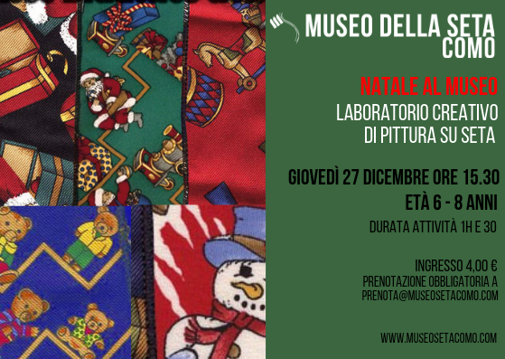 Museo Della Seta Como Bambini Creativi